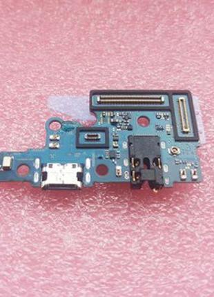 Нижняя USB плата + микрофон для Samsung SM-A705 Galaxy A70