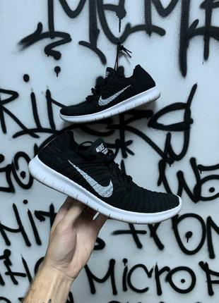 Nike free rn flyknit легкие летние кроссовки кросовки сетка