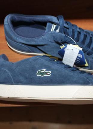 42 размер lacoste lerond 319 4 оригинальные кроссовки
