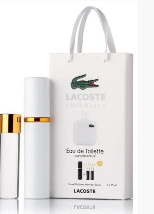 Подарочный набор Lacoste Eau De Lacoste L.12.12 edt 3X15 ml, мужс