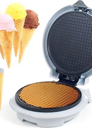 Вафельница + конус для мороженого