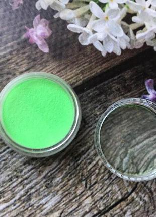 Акриловая пудра цветная для дизайна ногтей №2