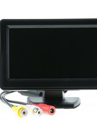 """Монитор автомобильный LCD 4,3"""" для двух камер"""