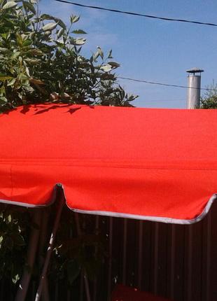 Тент крыша на садовые качели