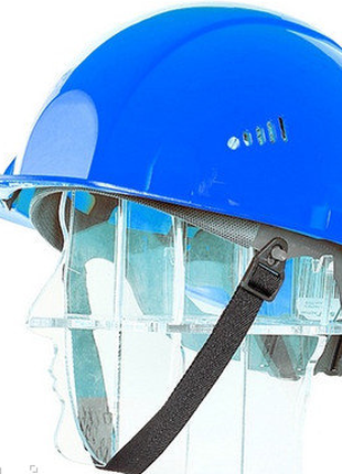 Каска защитная росомз сомз-5 синяя 75117