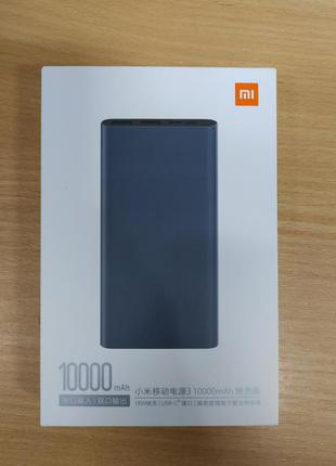 Xiaomi Powerbank 3 10000mAh Black Оригинал