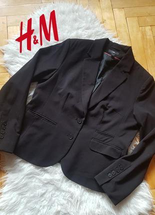 Трендовый классический пиджак жакет черного цвета в идеальном ...