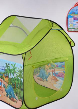 Детская палатка Динозавры 112 102 114 см