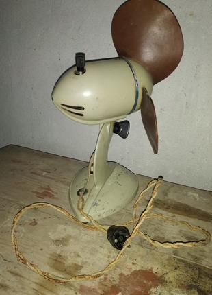 Вентилятор настольный 1956 года