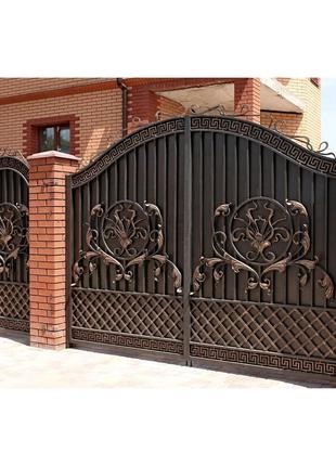 Кованные ворота.Николаев.