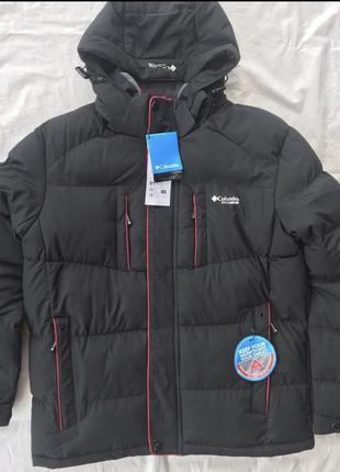 Тёплая куртка Columbia titanium