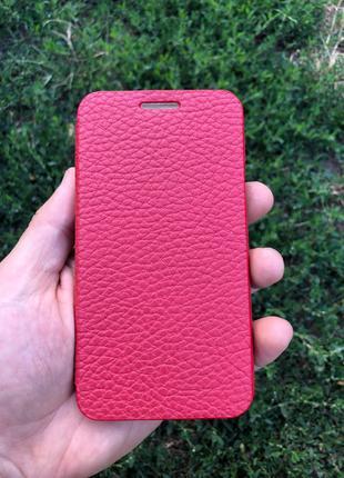 Чехол для Samsung Galaxy A3 кожаный
