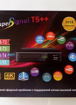 Тюнер Т2 Super signal T5+++