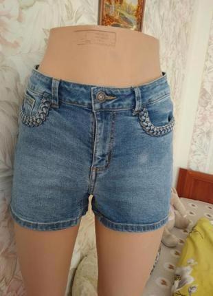 Джинсовые шорты vero moda s ка