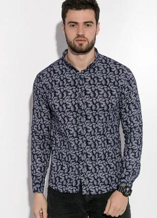 Новая мужская рубашка с длинным рукавом.