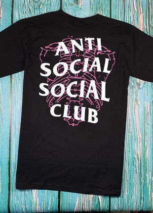 Футболка a.s.s.c. anti social social club • skull• ориг бирки