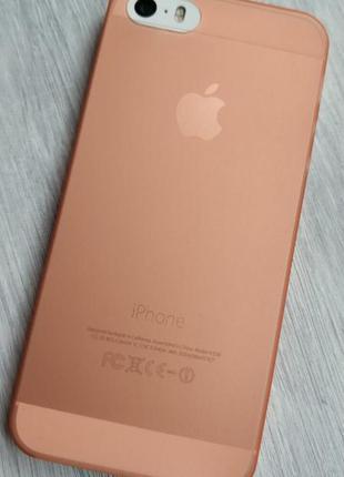Чехол айфон ультратонкий матовый разные цвета