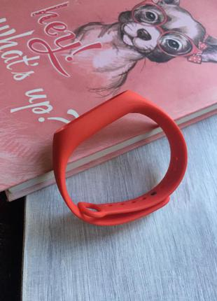 Ремешок фитнес браслет xiaomi mi band 2 mijobs ми бенд 2 красный
