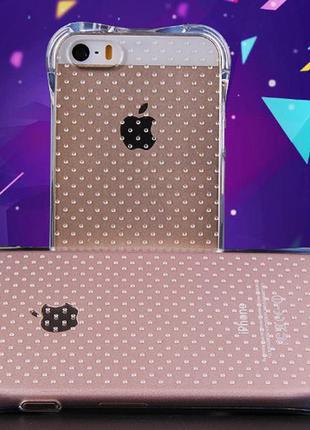 Чехол на айфон 4 4s 5 5s se 6 6s 6 plus 6+ силиконовый