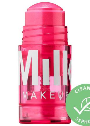 Блеск с оттенком для губ и щек milk makeup glow oil lip + cheek