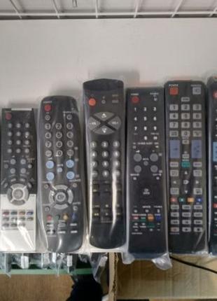 Пульты для Samsung, LG, Philips, Sony, T2 приемники, любой бренд.