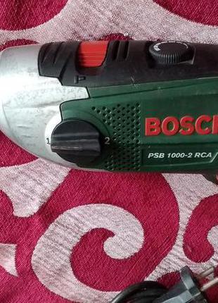 Дрель ударна BOSCH PSB 1000-2 RCA