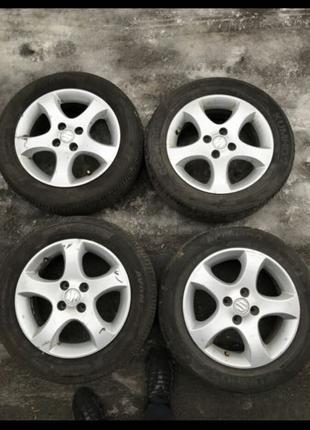 Диски R15, 4*100, et45, 6J,dia54.1 Suzuki.