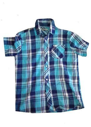 Рубашка для мальчика летняя