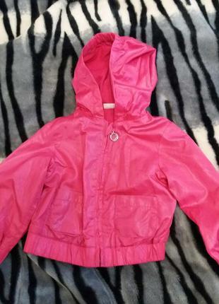 Куртка легкая для девочки, ветровка