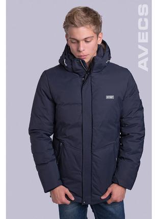 Куртка мужская зимняя Avecs AV-70199 40H Размеры 54 (на 52)