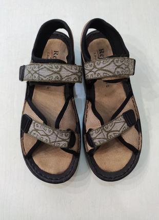 Reflexan замшевые сандалии, босоножки на липучках