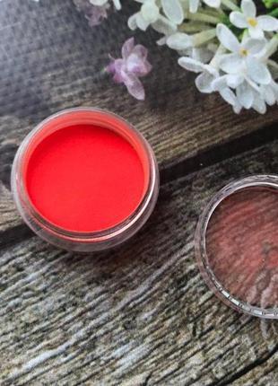 Акриловая пудра цветная для дизайна ногтей №10