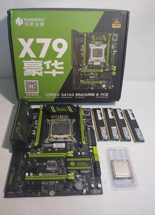 Игровой комплект Huananzhi x79+Xeon E5-1650+16GB RAM (Гарантия 6м