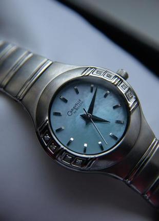 Бриллианты!  женские часы c бриллиантами caravelle by bulova п...