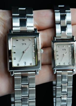 Парные часы tfx by bulova для него и для нее, парный подарок