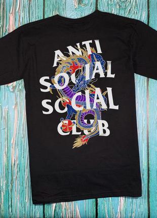 Футболка a.s.s.c. anti social social club•ориг бирки•новая фут...