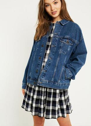 Винтажная джинсовая куртка go west