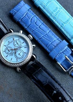 Скидка! женские часы с бриллиантами sartego, 108 бриллиантов, ...