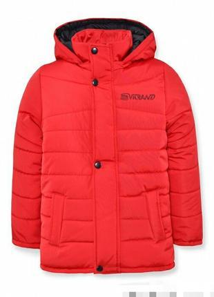 Куртка пуховик парка детская зимняя теплая  на овчине 98 р.