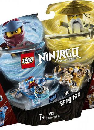 Лего Lego Ninjago 70663 Ния и Ву мастера Кружитцу