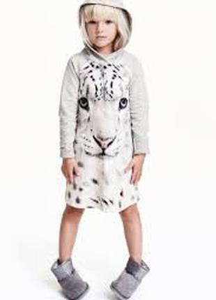 Платье девочке 9 - 10 лет h&m