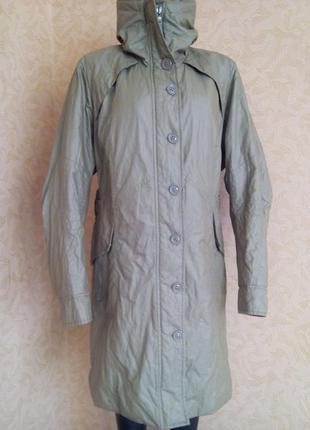 Теплое пальто на синтепоне с пропиткой бренд creenstone