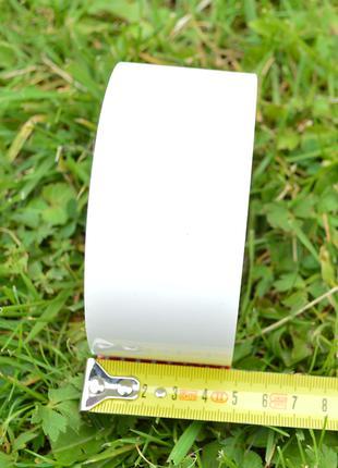 Скотч білий 55 м намот, товщина 43 мкм, 45 мм ширина