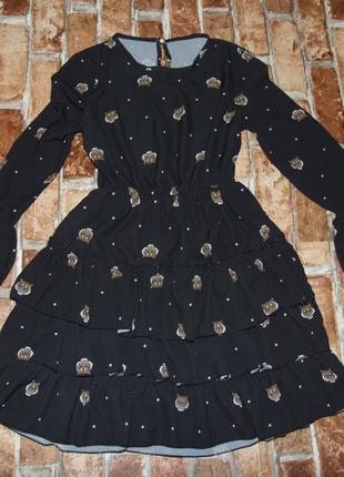 Стильное платье девочке 10 лет