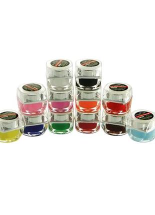Цветные LED гели в наборе из 12 шт