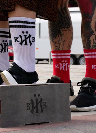 Высокие Носки в полоску кИЇв Vans Huf Supreme Nike Jordan Adidas