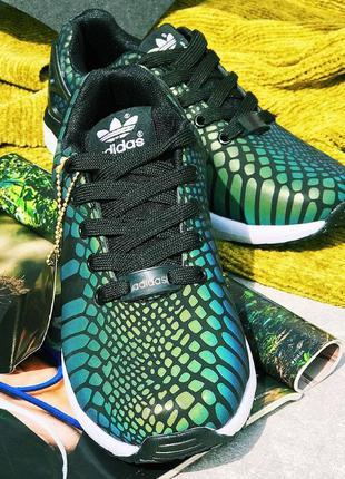 Светящиеся кроссовки ADIDAS ZX FLUX XENO, размер 37-й, адидас ...