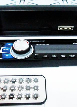 Автомагнитола 1090 съемная панель USB AUX