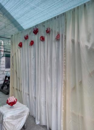 Аренда задник на свадьбу, арка на свадьбу, оформление свадьбы
