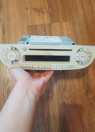 FIAT 500 радио cd MP3 BOSCH белый 7355341820